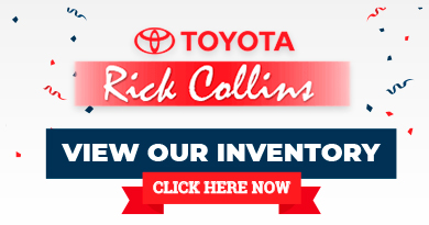 Rick Collins Toyota Labor Day Tent Sale